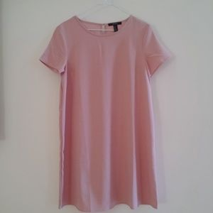 Forever 21 T-Shirt Dress (Pink)